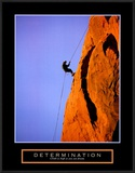 Determination: Climber Posters