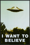 The X-Files - I Want To Believe Print Posters