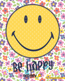 Smiley Be Happy Posters