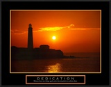 Dedication: Lighthouse Poster