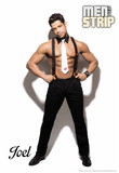 Joel - Signature Men of the Strip Pin-up Poster Prints