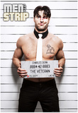 Charles - Mugshot Men of the Strip Pin-up Poster Posters