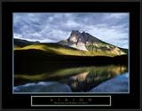Vision: Mountain Reflection Print