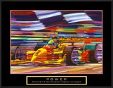 Power: Formula 1 Print by Bill Hall
