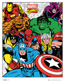 Marvel Group Kunstdrucke