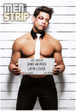 Joel - Mugshot Men of the Strip Pin-up Poster Posters
