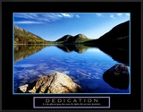 Dedication: Jordan Pond Poster by Dermot Conlan