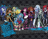 Monster High Cast Print