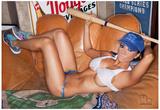 Mario Brown - Regina Pacheco Baseball Mitt - Posterler