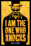 Breaking Bad - I am the one who knocks Affiche