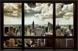 New York Window Print