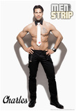 Charles - Signature Men of the Strip Pin-up Poster Posters
