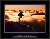 Challenge: Skier in Clouds Print