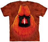 Red Cardinal Portrait T-Shirt