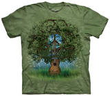 Guitar Tree Skjorter