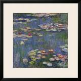 Water Lilies (Nymphéas), c.1916 Prints by Claude Monet