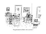 """You gotta hand it to Mario—he's a survivor."" - New Yorker Cartoon Premium Giclee Print by David Sipress"
