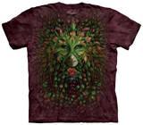 Green Woman - T-shirt