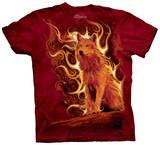 Phoenix Wolf T-shirts