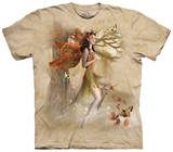 Fairy In Forest Meadow Shirts