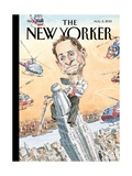 Carlos Danger - The New Yorker Cover, August 5, 2013 Regular Giclee Print by John Cuneo
