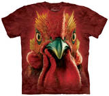 Rooster Head T-shirts