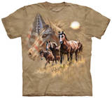 Patriot Horse T-shirts