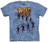 Kokopelli In Moonlight T-shirts
