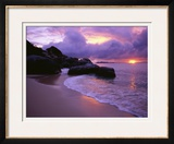 The Baths in Virgin Islands Framed Photographic Print by Nik Wheeler