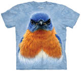 Eastern Bluebird Portrait Camisetas