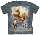White Buffalo Shield T-shirts