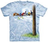 Bird Tree T-shirty