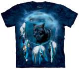 Black Wolf Spirit Shield Shirts