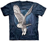 Snow Owl Moon Shirts