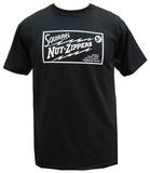 Squirrel Nut Zippers - Black Roasted Right Logo T-shirts