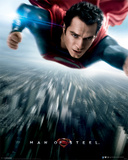Man Of Steel - Flying Movie Poster Print