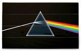 Pink Floyd - Dark Side Of The Moon Znak drewniany