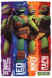 Teenage Mutant Ninja Turtles (Profiles) Poster