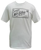 Squirrel Nut Zippers - White Roasted Right Logo T-Shirt