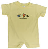 Infant: The Avett Brothers - Gold I & Love & You Romper Body