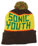 Knit Hat: Sonic Youth T-shirts