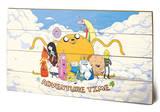 Adventure Time - Cloud Wood Sign Panneau en bois