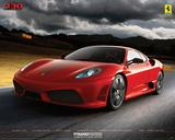 Ferrari (430 Scuderia) Kunstdrucke