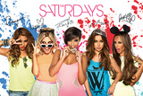 The Saturdays - (Splash) Kunstdruck