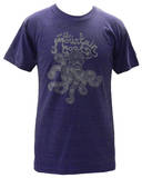 The Mountain Goats - Octopus on Indigo (Tri-Blend) T-shirts