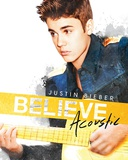 Justin Bieber (Acoustic) Music Poster Reprodukcje