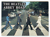 The Beatles - Abbey Road Wood Sign Wood Sign