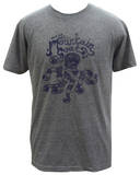 The Mountain Goats - Octopus on Grey (Tri-Blend) T-Shirt