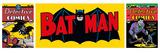 Batman Triptych Kunstdruck