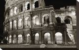 Colosseum Stretched Canvas Print by Christopher Bliss